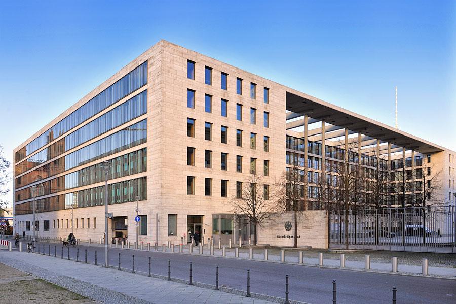 Das Auswärtige Amt, besser bekannt als Außenministerium, gibt für Länder weltweit Reisehinweise heraus, auch für Israel. (© Matthias Hinrichsen)