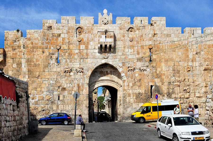 Das Löwentor in Jerusalem entstand in dieser Ausführung 1875. (© Matthias Hinrichsen)