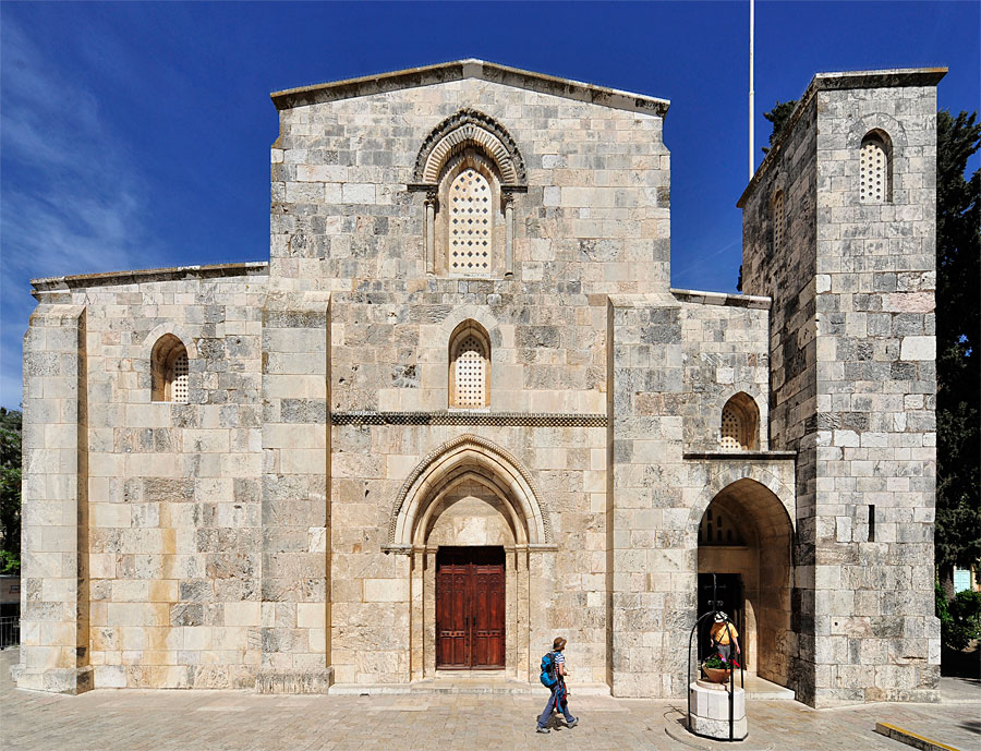 St. Anna Kirche in Jerusalem. (© Matthias Hinrichsen)