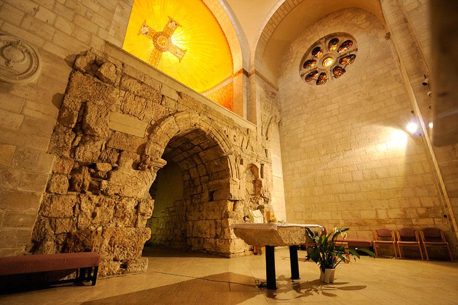 Die Ecce-Homo-Basilika an der Via Dolorosa kann von Gästen des Hauses direkt betreten werden. (© Matthias Hinrichsen)