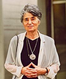 Ruth Klüger. (Foto: ZDF und ORF, Brigitte Friedrich)