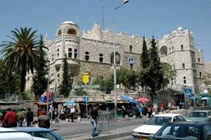 Gegenüber vom Damaskustor in sehr zentraler Lage. (Foto: Paulus-Haus)