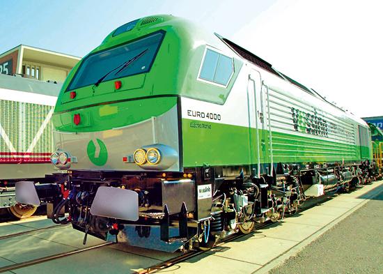 Die stärkste dieselelektrische Lokomotive Europas: Vossloh EURO 4000. (© Vossloh)