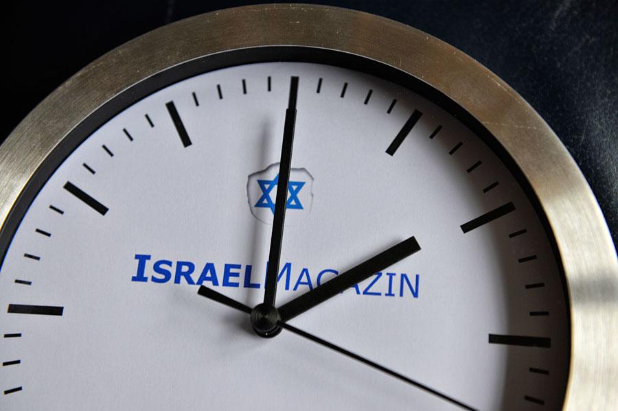In Israel werden die Ihren während des Sommers um eine Stunde nach vorne gestellt. (Foto: Matthias Hinrichsen)