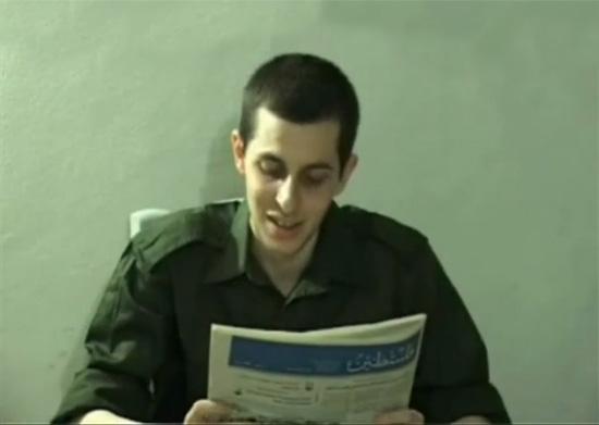 Gilad Schalit in einem Video aus dem Jahr 2009. (Videoausschnitt)