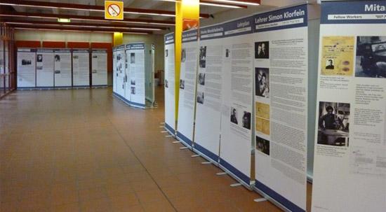 Ausstellung über die Jüdische Berufsfachschule Masada wird noch bis 18. November in der Universität Jena gezeigt. (© Ausstellungsleitung)