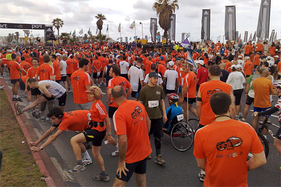 Beim Marathon 2017 in Tel Aviv werden 40.000 Teilnehmer erwartet. (© Lior Shapira/TA Maraton)