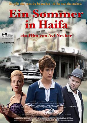 """Filmplakat """"Ein Sommer in Haifa"""". (© Bildkraft)"""
