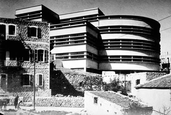 Markt Talpiot in Haifa 1937-1940. (© Moshe Gerstel)