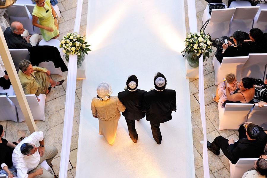 Jüdische Hochzeit in einem Jerusalemer Hotel. (© Matthias Hinrichsen)