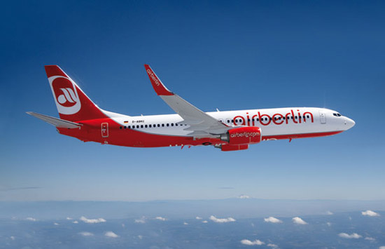 Airberlin erweitert sein Flugangebot nach Israel von Berlin aus. (© airberlin)