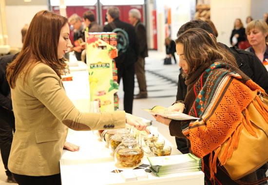 Auf der Biofach 2013 in Nürnberg präsentieren auch israelische Unternehmen ihre Produkte. (© Messe Nürnberg/Thomas-Geiger)