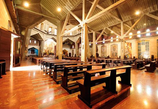 Verkündigungsbasilika in Nazareth. (© Matthias Hinrichsen)