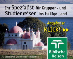 Biblische Reisen ins Heilige Land