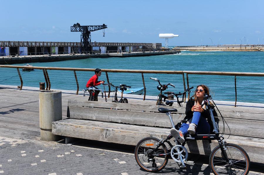 Alter Hafen in Tel Aviv: einer der schönsten Freizeitareale in der Mittelmeerstadt.  (© Matthias Hinrichsen)
