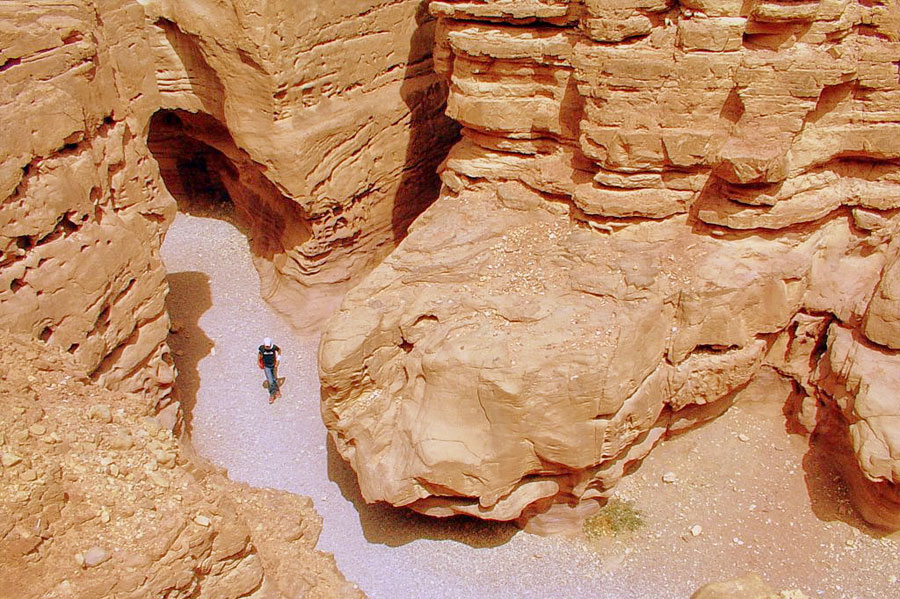 Der Red Canyon im Süden Israels. (© photosam88/flickr CC BY 4.0)