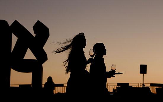Für nur 95 Schekel kann man Anfang September köstliche Weine Israels probieren. (© Israel Museum)