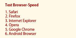 Browserspeed