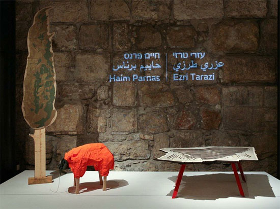"""Bis Dezember darf im Jerusalemer Stadtmuseum in der Davidszitadelle die Designausstellung """"Objective"""" bewundert werden. (© Oded Antman/Tower of David)"""