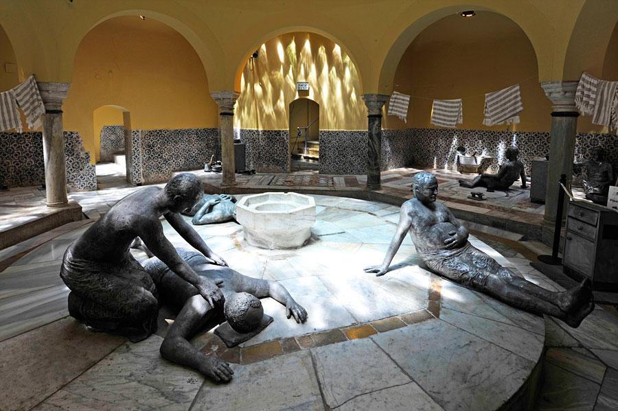 Türkisches Bad in Akko mit