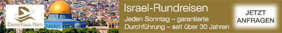 Diesenhaus Israel Rundreise