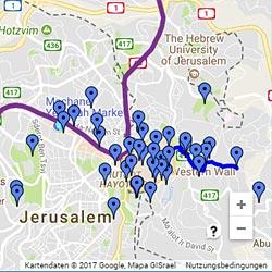 Sehenswerte Israel-Ziele