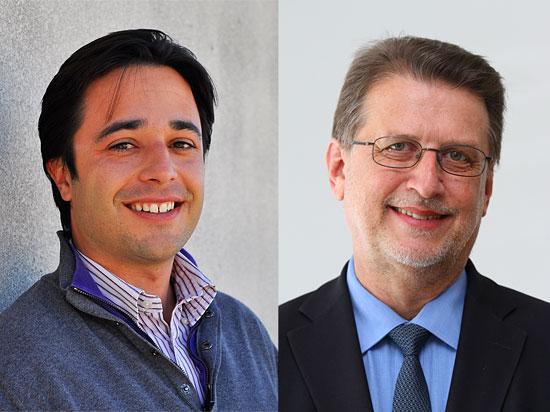 """Moshe Gabay und Veranstalter Harald Eckert,  Leiter von """"Christen an der Seite Israels e.V."""" (Foto: privat)"""