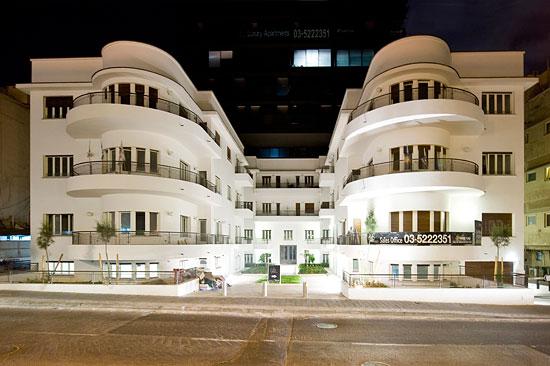 Tel Aviv ist Unesco-Weltkulturerbe mit Gebäuden im Bauhaus-Stil. (© Matthias Hinrichsen)