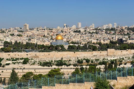 Kapitän Hansen genießt die Zeit in Jerusalem. (© Matthias Hinrichsen)