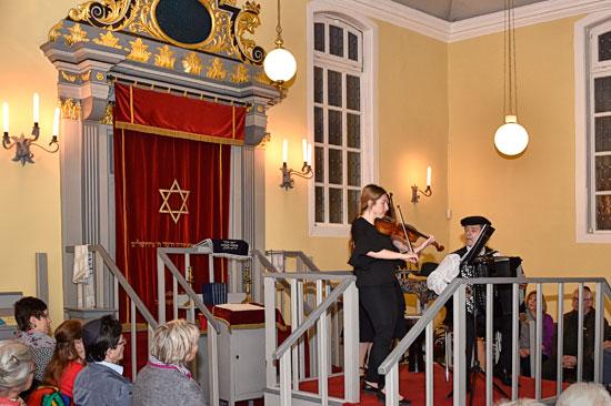 Toraschrein Celler Synagoge.