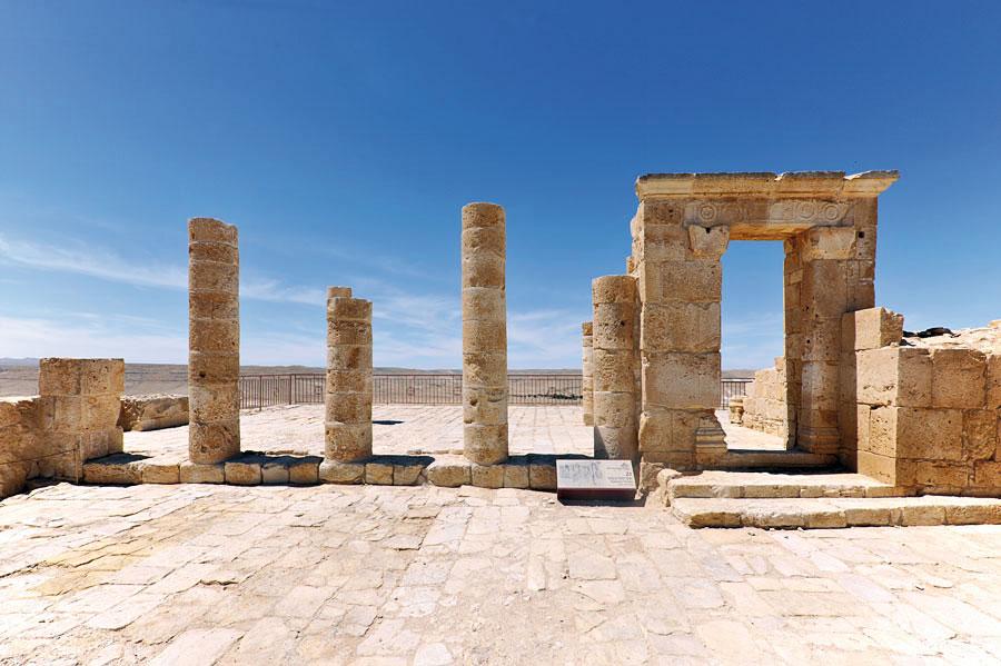 Überreste der Tempelanlage in Avdat. (© Matthias Hinrichsen)