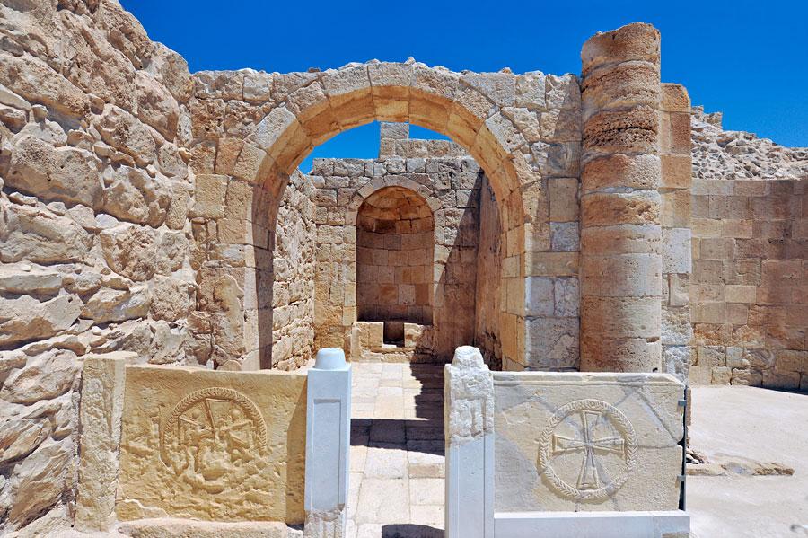 Avdat ist eine der besterhaltenen historischen Stätten Israels. (© Matthias Hinrichsen)