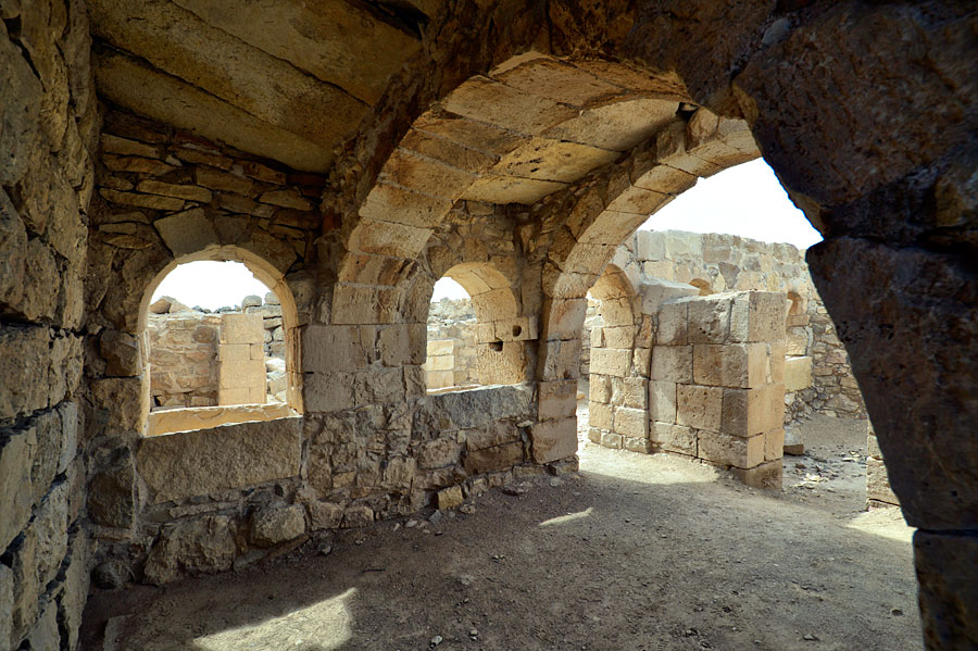 Ausgrabungen in Shivta zeigen den Reichtum der alten Nabatäerstadt. (© Matthias Hinrichsen)