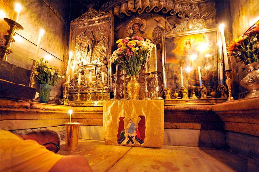 Grab Jesu in der Grabeskirche. (© Matthias Hinrichsen)