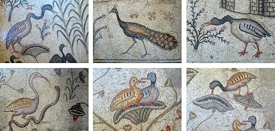Die Tier- und Pflanzenmotive sind Arbeiten aus dem 4. Jahrhundert. (© Matthias Hinrichsen)