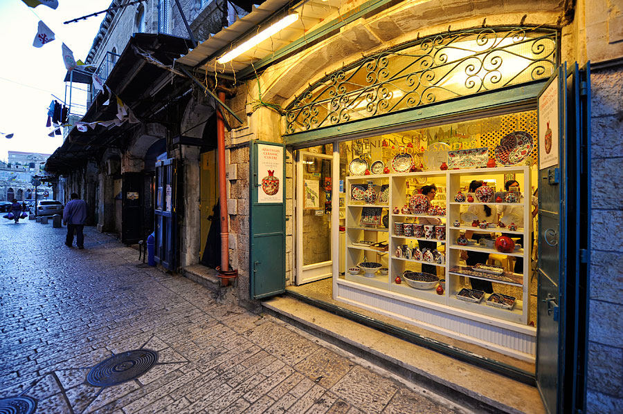 armenische Viertel Jerusalem Altstadt