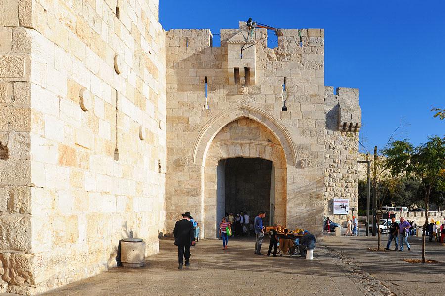 Jaffator in Jerusalem. (© Matthias Hinrichsen)