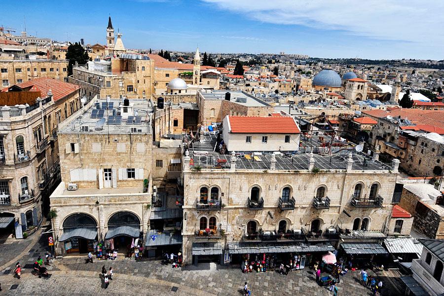 christliche Viertel Altstadt Jerusalem