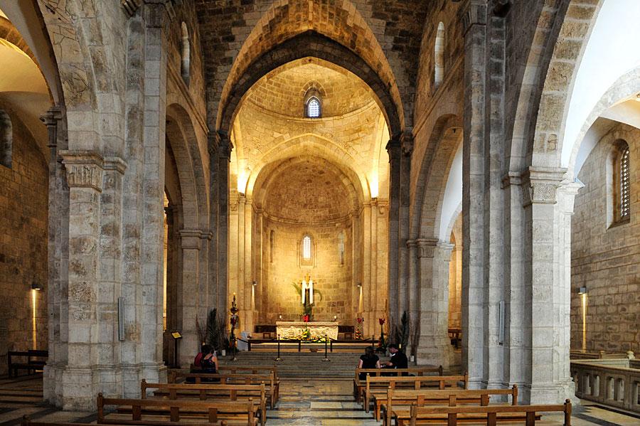 Der Innenraum der St. Anna Kirche bietet eine außergewöhnliche Akustik. (© Matthias Hinrichsen)