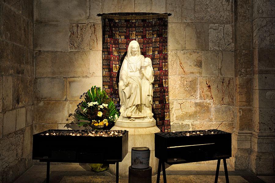 Grotte zur Verehrung Marias, der Mutter Jesu. (© Matthias Hinrichsen)