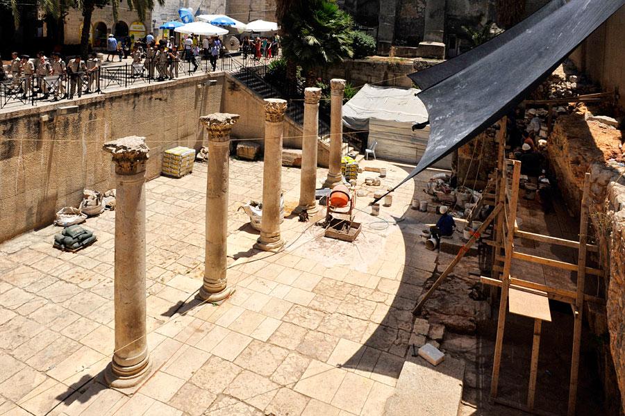 Säulen Cardo Jerusalem