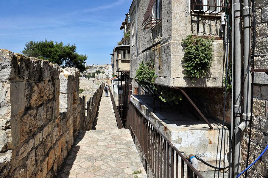 Rundgang Stadtmauer Jerusalem