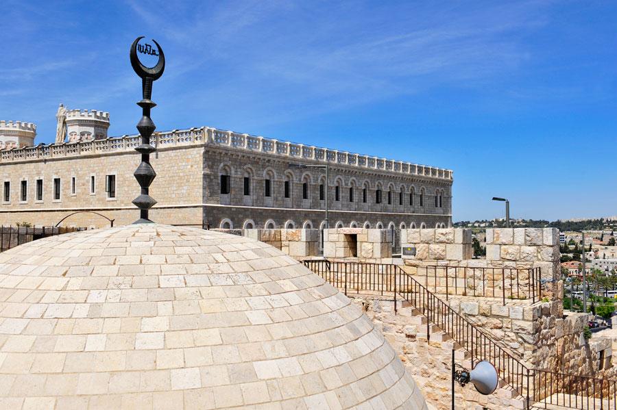 das französische Hospiz Notre Dame