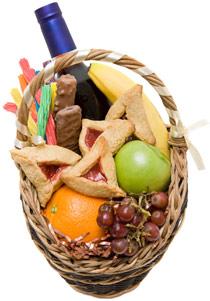Der Geschenkkorb an Purim ist reich gefüllt. (Foto: Tova Teitelbaum/iStockphoto)