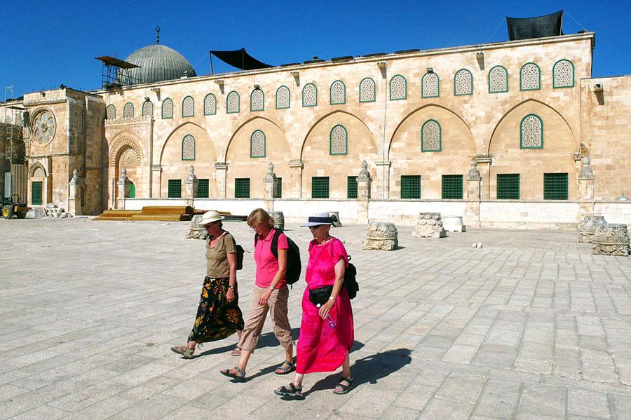 Al-Aqsa-Moschee. (© Matthias Hinrichsen)