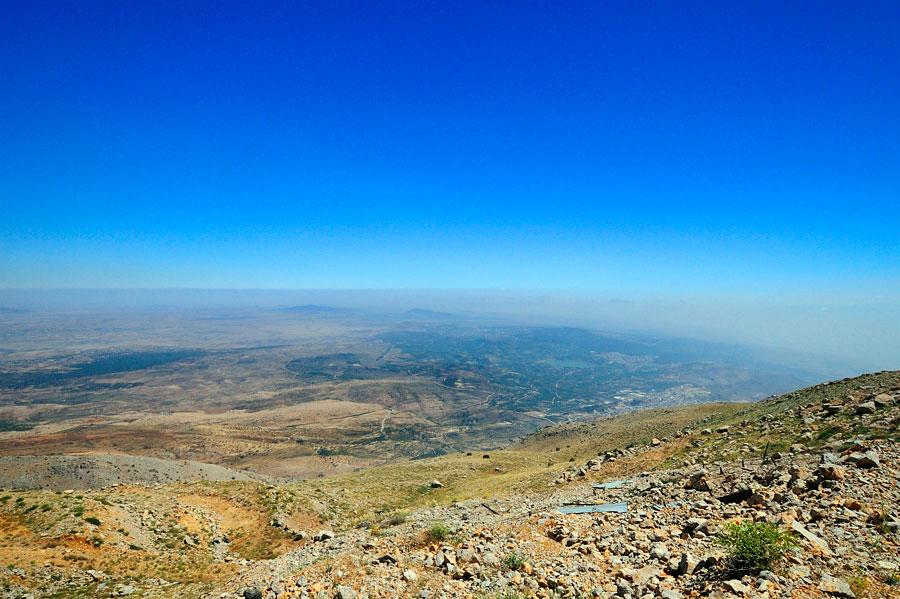 Berg Hermon: Der schönste Ausblick in ganz Israel. (© Matthias Hinrichsen)