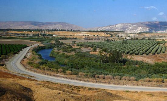 Der Jordan im Grenzgebiet von Israel und Jordanien. (Foto: Matthias Hinrichsen)