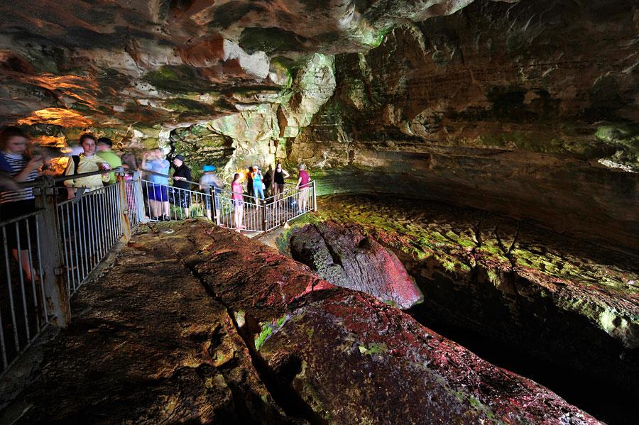 Imposante Höhlen von Rosh Hanikra. (© Matthias Hinrichsen)