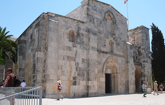 Eine der Kirchen in Jerusalem ist die St.-Anna-Kirche am Teich Bethesda. (© Matthias Hinrichsen)