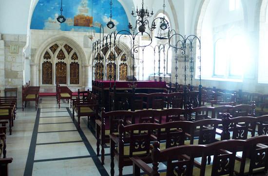 Die Istanbuli-Synagoge, die größte und jüngste der vier sephardischen Synagogen. (Foto: Matthias Hinrichsen)